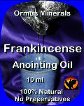 Ormus Minerals Frankincense Anointing Oil